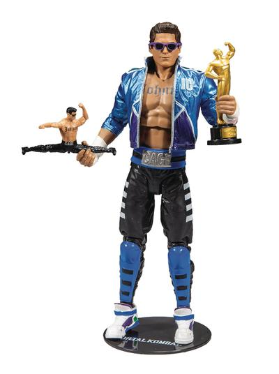MORTAL KOMBAT WV2 JOHNNY CAGE 7IN SCALE AF CS
