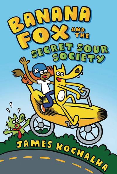 BANANA FOX TP 01 SECRET SOUR SOCIETY