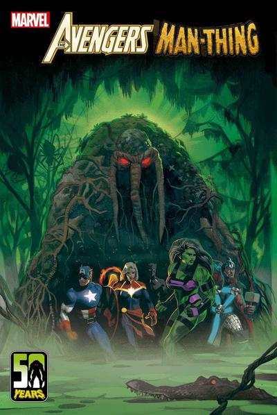 AVENGERS CURSE MAN-THING