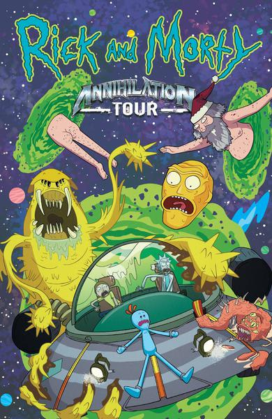 RICK AND MORTY ANNIHILATION TOUR TP 00