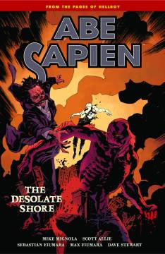ABE SAPIEN TP 08 DESOLATE SHORE