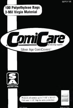 COMIC BAGS SILVER AGE CC Polyethylene