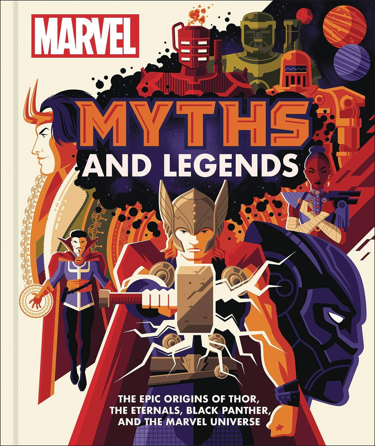MARVEL MYTHS & LEGENDS EPIC ORIGINS MARVEL UNIVERSE HC