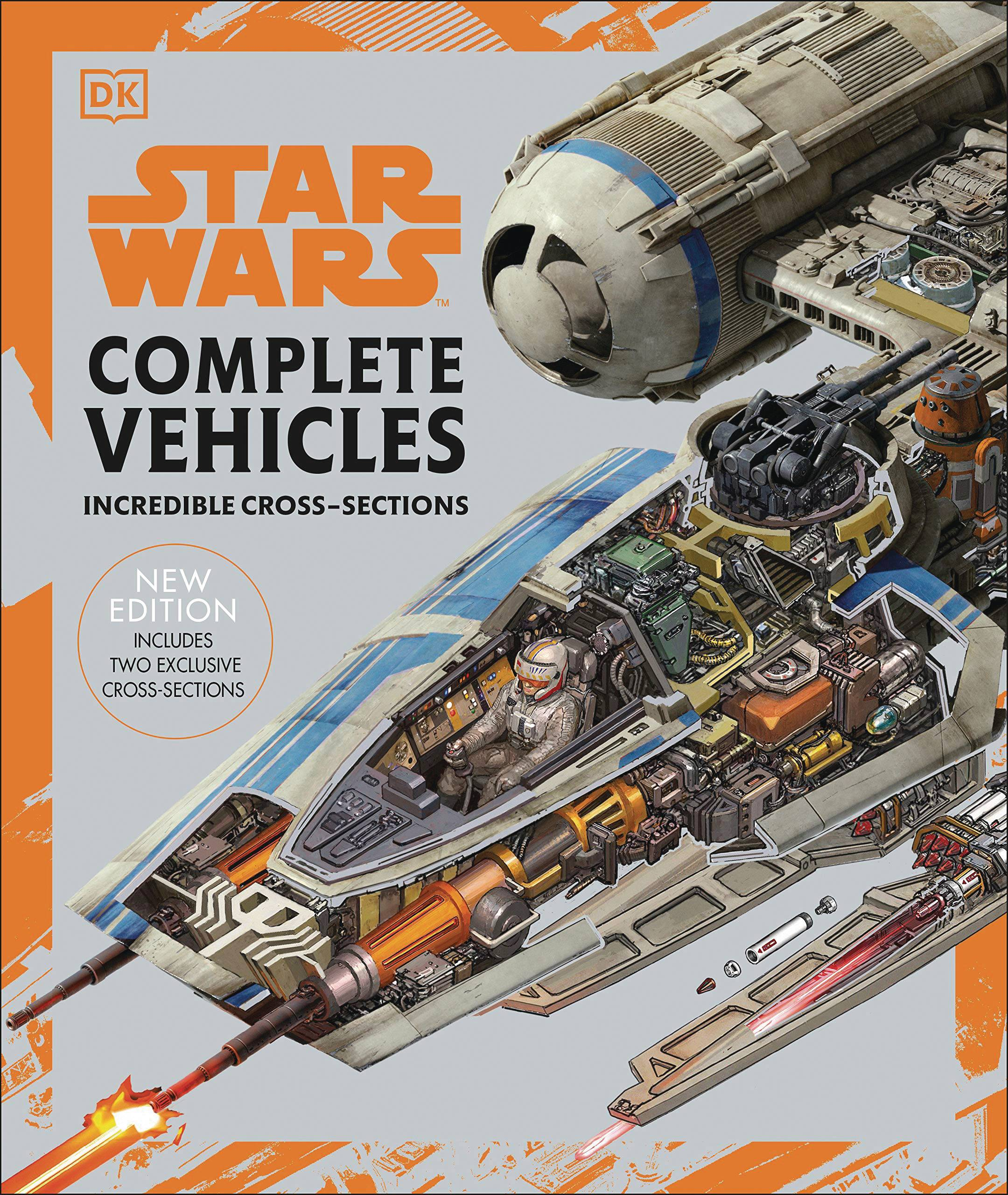 STAR WARS COMPLETE VEHICLES HC NEW ED