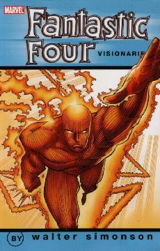 FANTASTIC FOUR VISIONARIES WALT SIMONSON TP 03