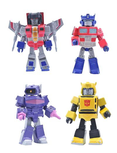 TRANSFORMERS SERIES 1 MINIMATES BOX SET