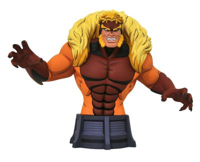 MARVEL ANIMATED X-MEN SABRETOOTH BUST