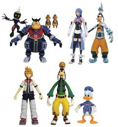 KINGDOM HEARTS SELECT SERIES 2 FIGURE ASST
