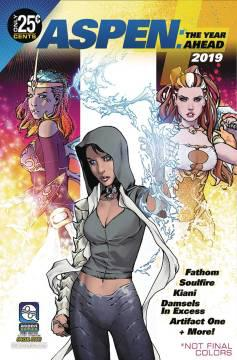 ASPEN COMICS 2019 YEAR AHEAD