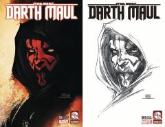 DARTH MAUL #1 VAR CVRS A & B SET MICHAEL TURNER