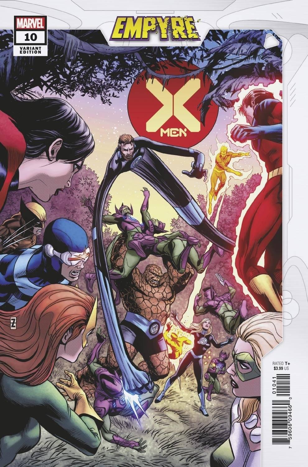 X-MEN - #10 Zircher-c
