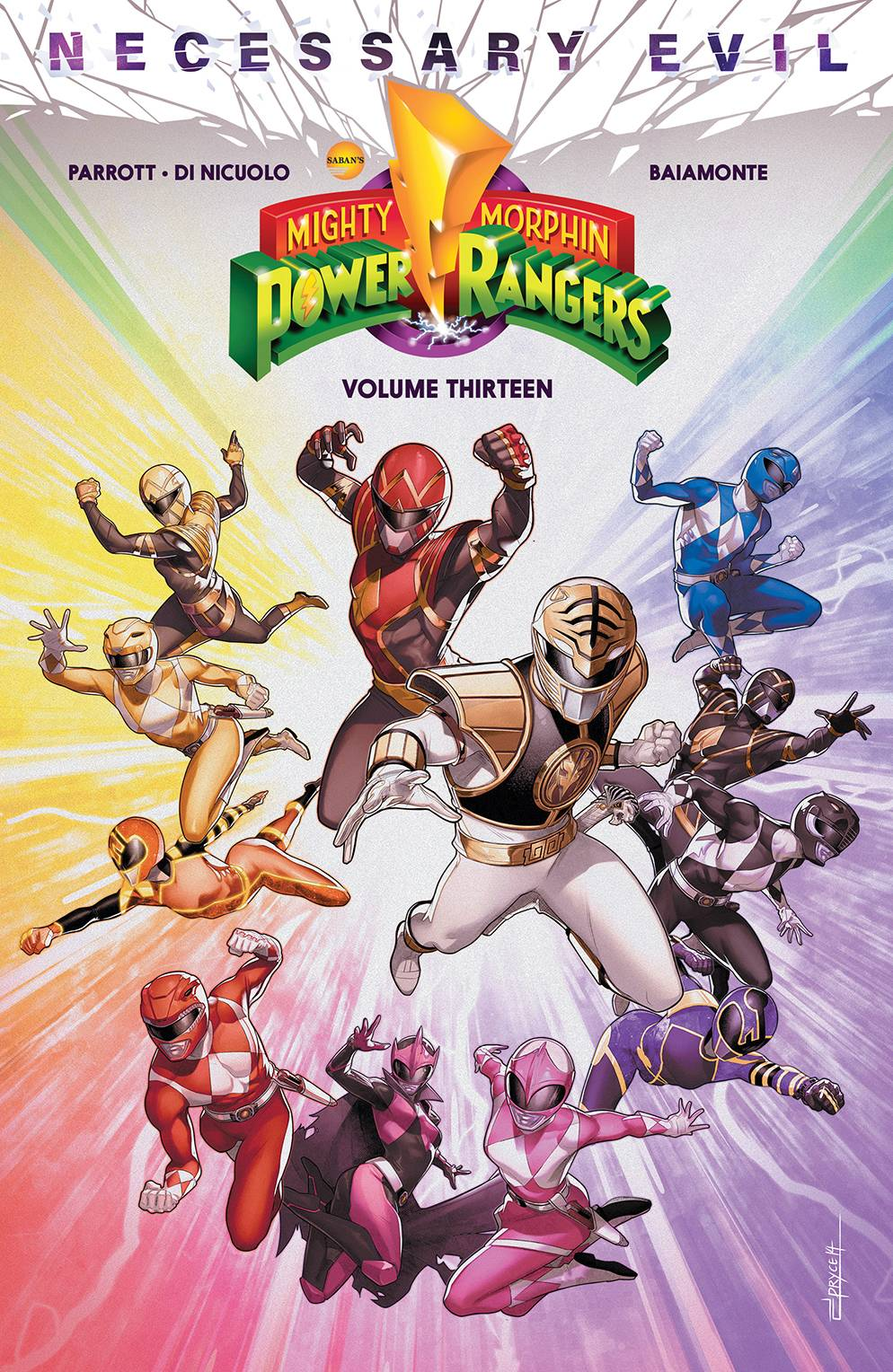 MIGHTY MORPHIN POWER RANGERS TP 13