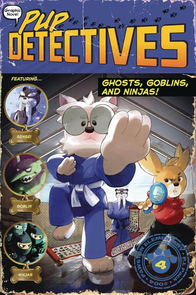 PUP DETECTIVES TP 04 GHOSTS GOBLINS & NINJAS
