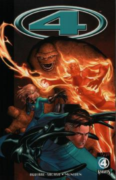 MARVEL KNIGHTS 4 TP 01 WOLF AT THE DOOR