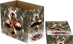 MARVEL SPIDER-MAN WEB SHORT COMIC STORAGE BOX