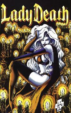 LADY DEATH BETWEEN HEAVEN AND HELL