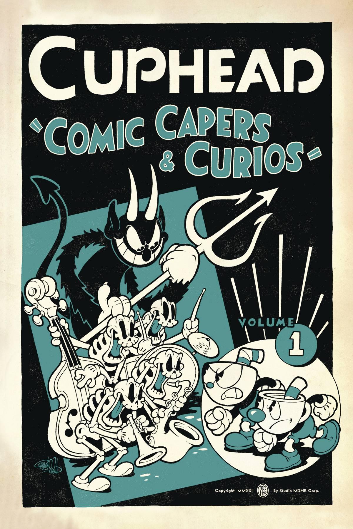 CUPHEAD TP 01 COMIC CAPERS & CURIOS