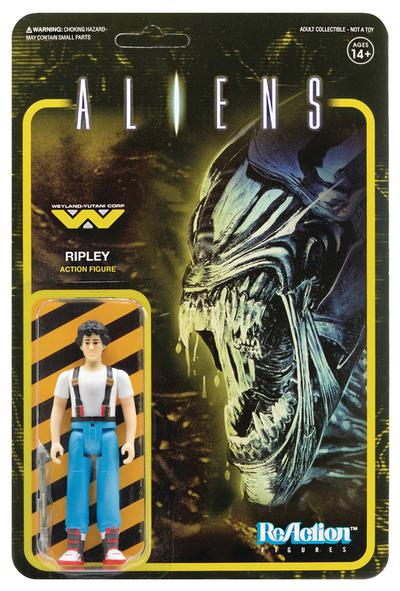 ALIENS RIPLEY REACTION FIGURE