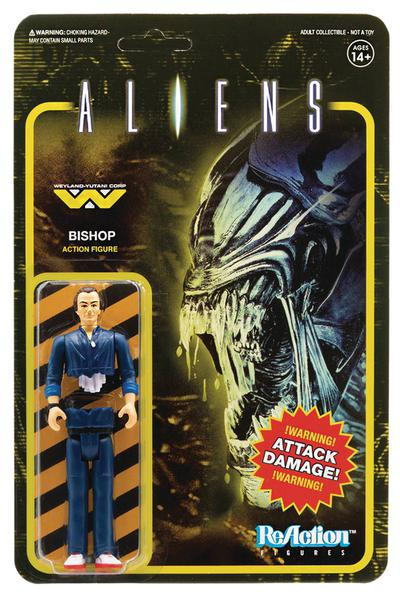 ALIENS BISHOP REACTION FIGURE