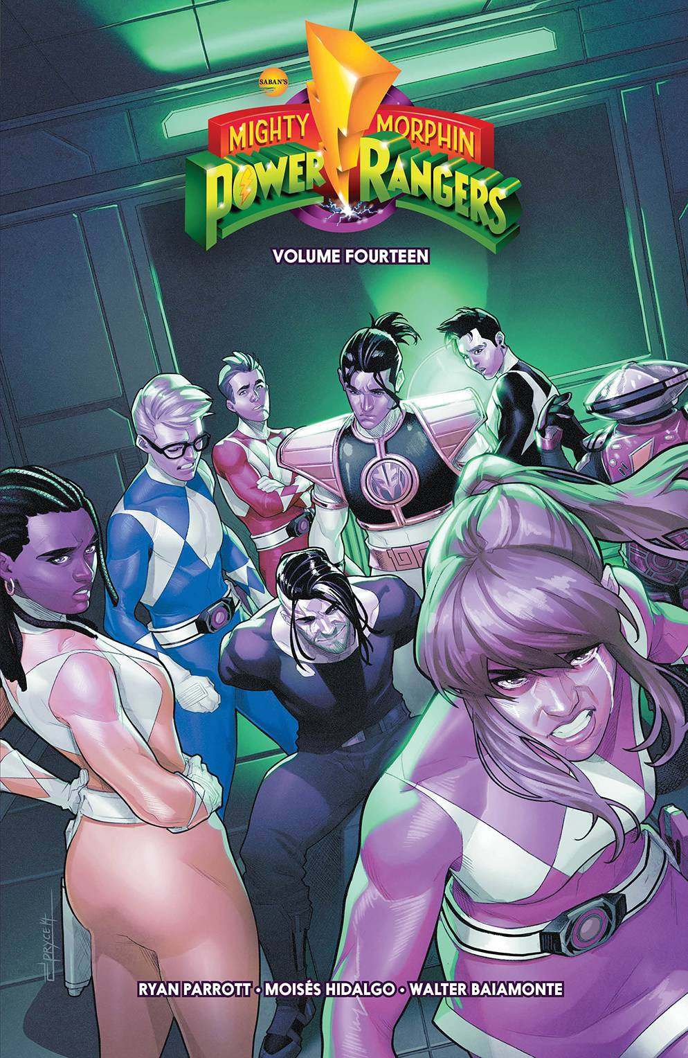 MIGHTY MORPHIN POWER RANGERS TP 14