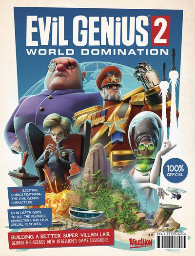 EVIL GENIUS 2 WORLD DOMINATION MAGAZINE
