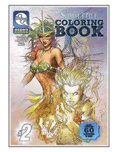 SOULFIRE COLORING BOOK SPECIAL TP 02