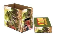 MARVEL HULK GREEN GOLIATH 5PK SHORT COMIC STORAGE BOX
