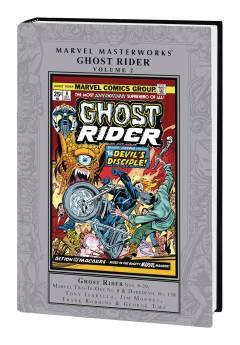 MARVEL MASTERWORKS GHOST RIDER HC 02