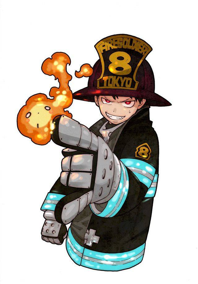 FIRE FORCE GN 21