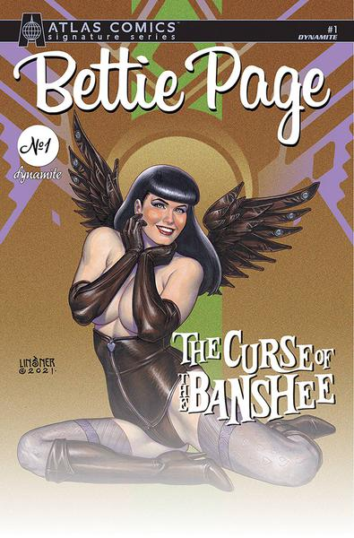 BETTIE PAGE & CURSE OF THE BANSHEE LINSNER SGN ATLAS ED