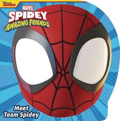 SPIDEY & HIS AMAZING FRIENDS MEET SPIDEY TEAM BOARD BOOK