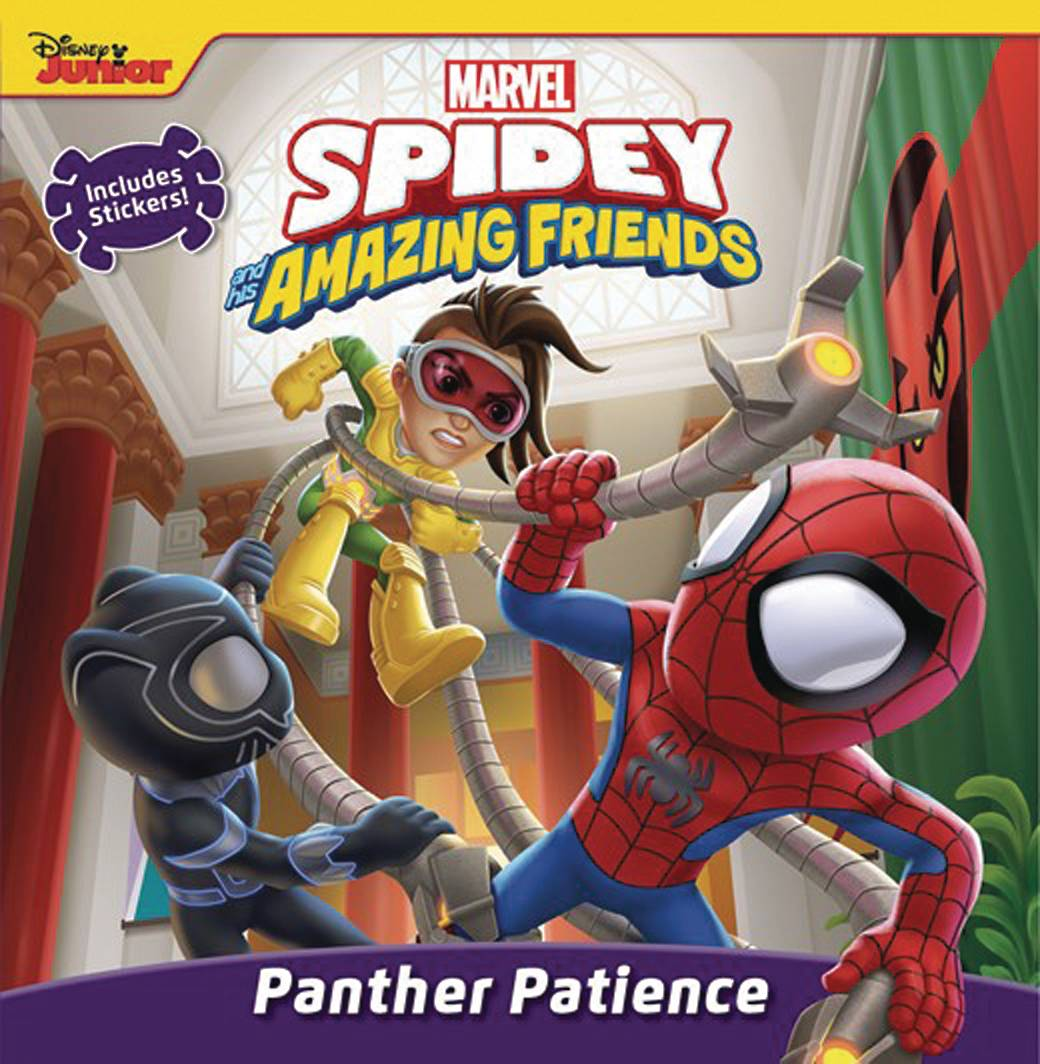 SPIDEY & HIS AMAZING FRIENDS PANTHER PATIENCE BOARD BOOK