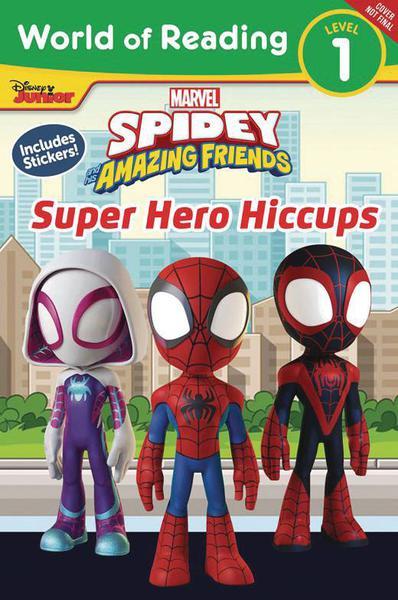 SPIDEY & HIS AMAZING FRIENDS SUPER HERO HICCUPS