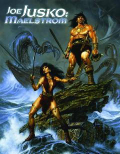 JOE JUSKO MAELSTROM SKETCHBOOK HC SGN ED