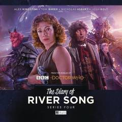 DOCTOR WHO DIARY OF RIVER SONG AUDIO CD SET #4