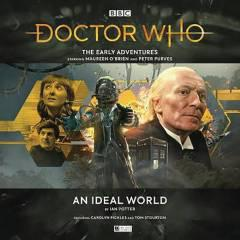 DOCTOR WHO EARLY ADV AN IDEAL WORLD AUDIO CD