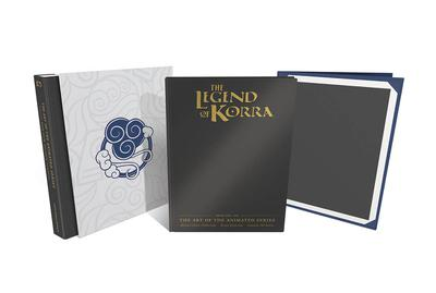 LEGEND KORRA ART ANIMATED AIR HC DLX 2ND ED