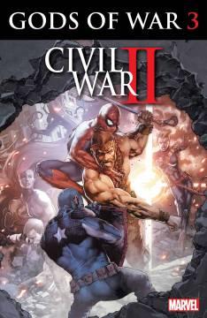 CIVIL WAR II GODS OF WAR