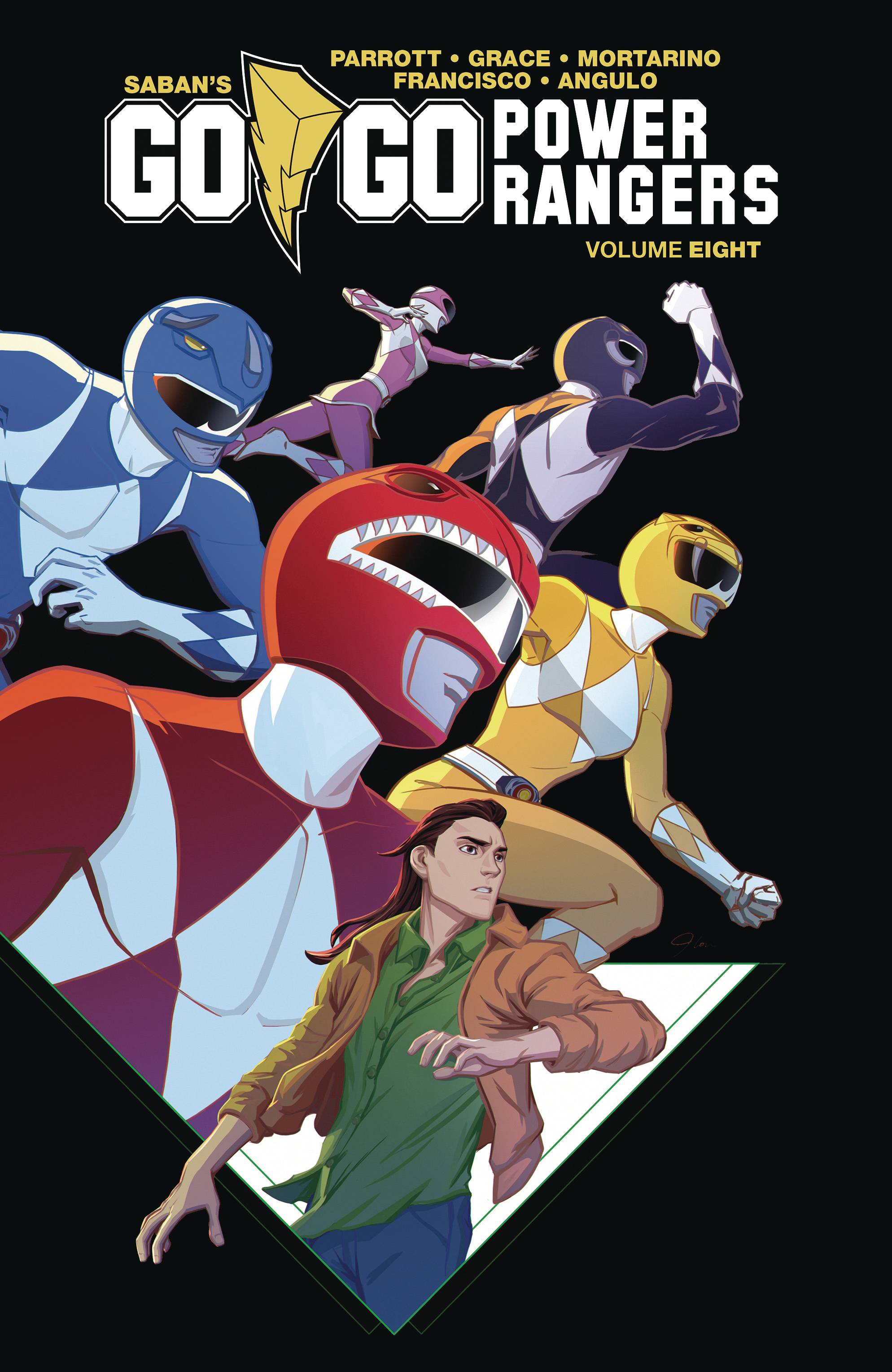 GO GO POWER RANGERS TP 08