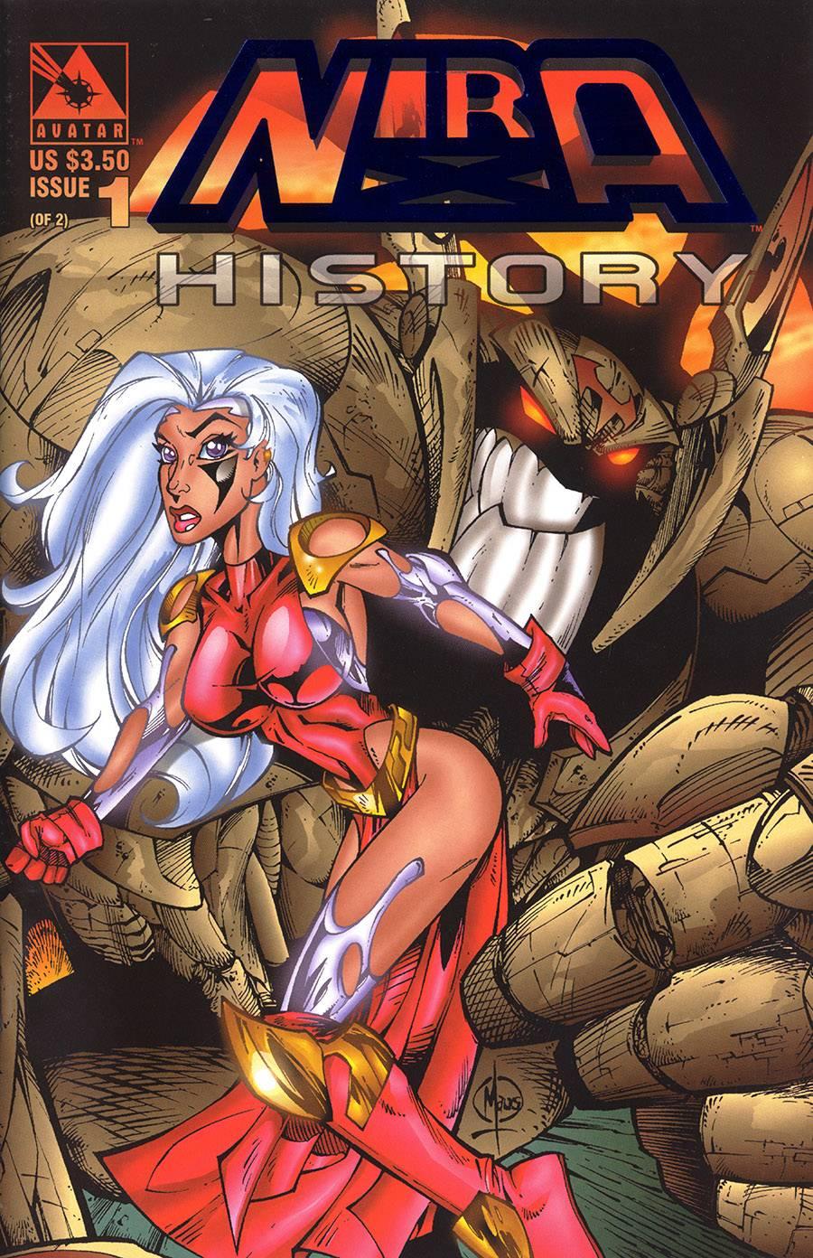 NIRA X HISTORY (1997) ROYAL BLUE VAR