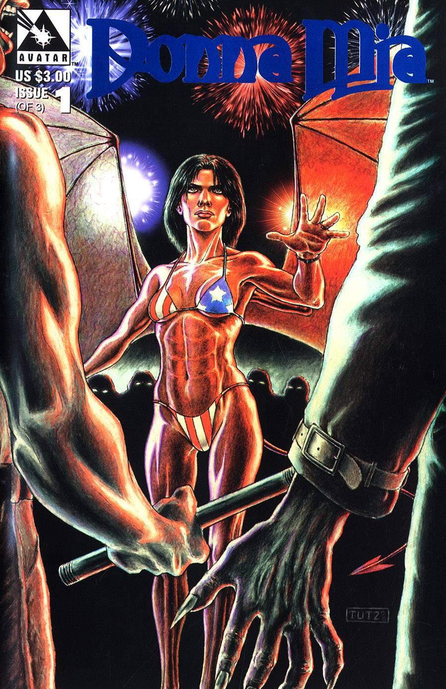 DONNA MIA (1997) ROYAL BLUE VAR