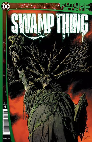 DF FUTURE STATE SWAMP THING #1 PERKINS SGN
