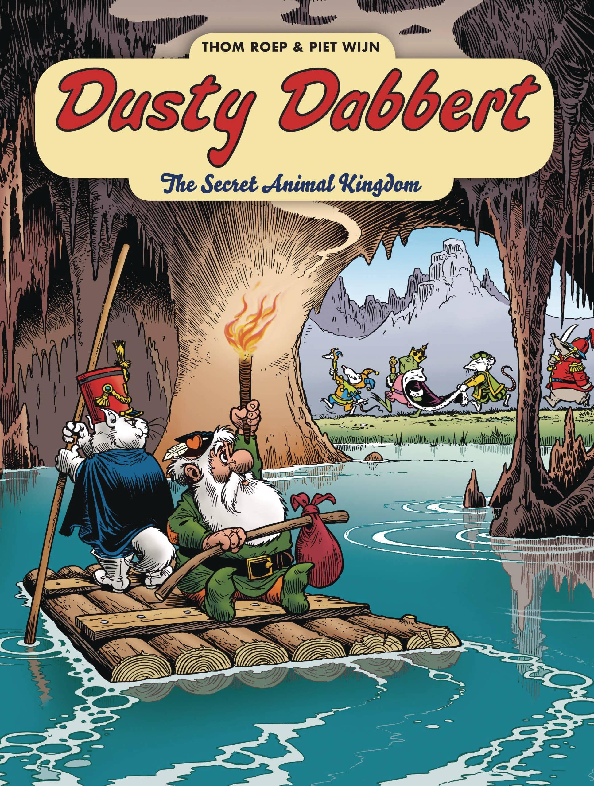 ADV OF DUSTY DABBERT TP 01 SECRET ANIMAL KINGDOM