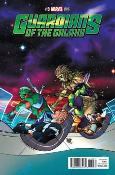 GUARDIANS OF GALAXY III (1-19)