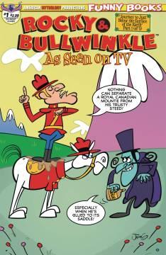 ROCKY & BULLWINKLE SEEN ON TV