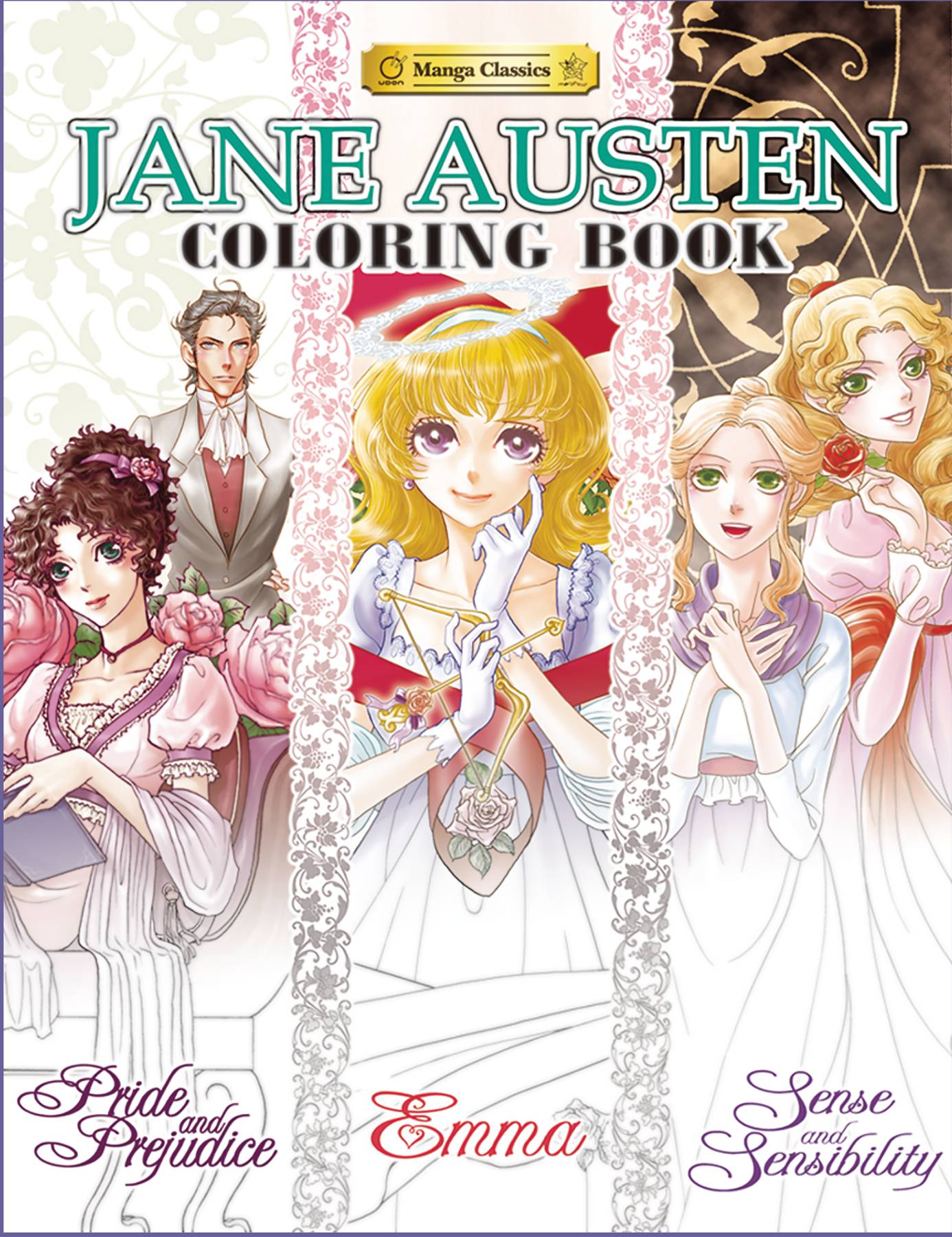 JANE AUSTEN COLORING BOOK SC