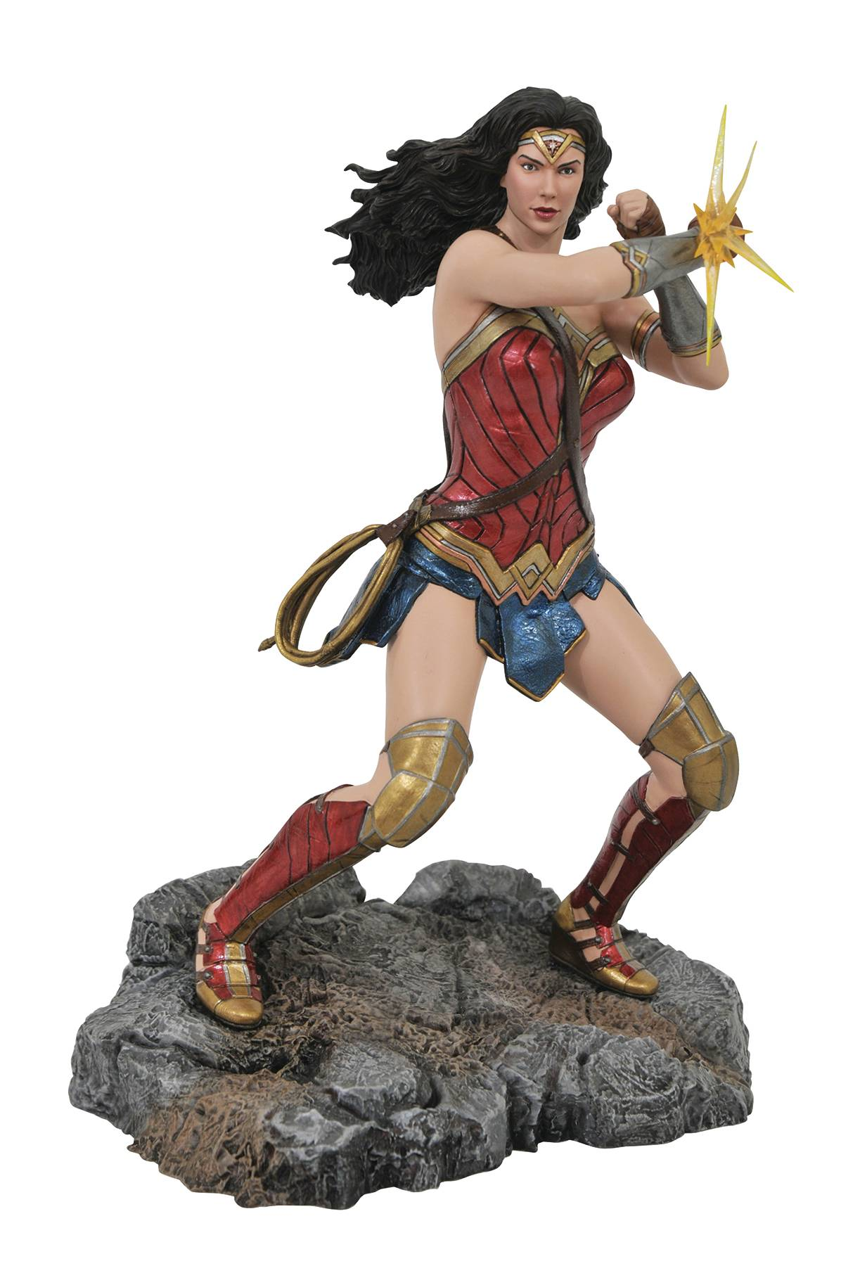 DC GALLERY JL MOVIE WONDER WOMAN BRACELETS PVC FIGURE