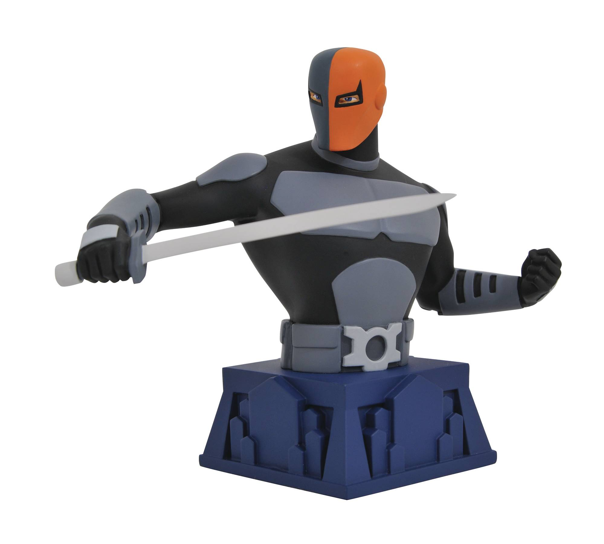 BATMAN TAS BEWARE THE BATMAN DEATHSTROKE BUST