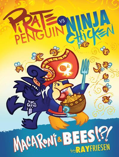 PIRATE PENGUIN VS NINJA CHICKEN HC 03