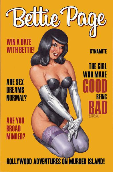 BETTIE PAGE HOLLYWOOD ADVENTURES MURDER ISLAND TP